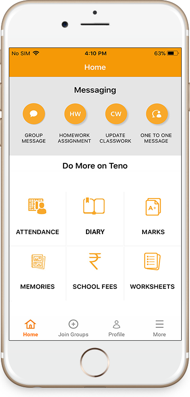India's Leading Free To Use Mobile App For Schools | Tenoapp